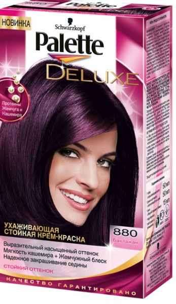 Краска для волос баклажан
