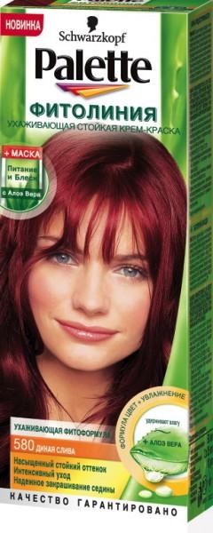 Краска слива для волос фото